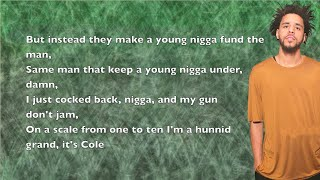 J. Cole - Black Friday - Lyrics