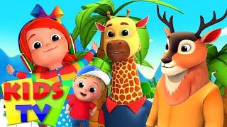 Зоопарк песня Стихи для детей дошкольные видео Kids Tv Russia Детские стишки
