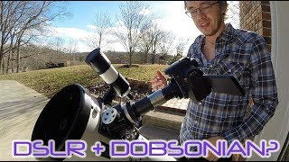 HOW TO Attach DSLR to Dobsonian
