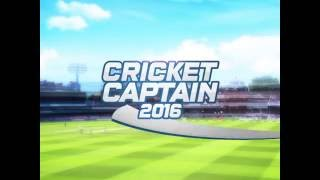 Cricket Captain 2016 For Android Official Gameplay Promo