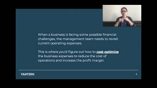 Yantern: Financial Forecast Challenge