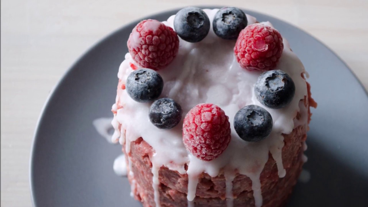 Healthy Raw Birthday Cake For Dogs Youtube