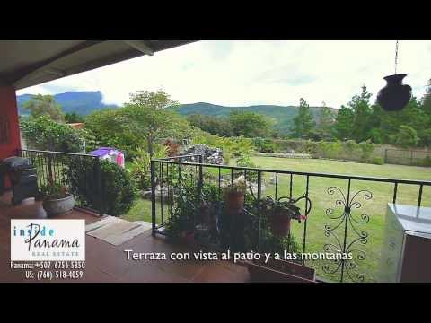 Home for Sale in Boquete, 3 bedrooms, 2 bathrooms - Inside Panama Real Estate