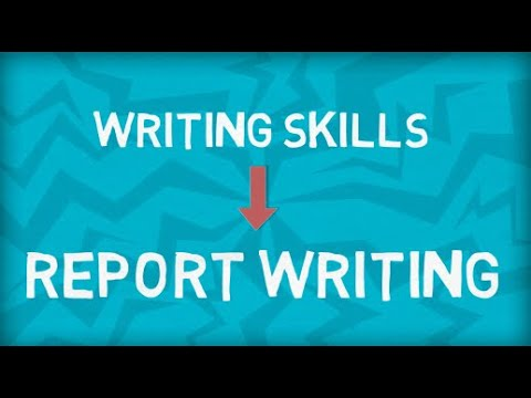 Report Writing | How to write a Report | Format | Example | Blood Donation Camp