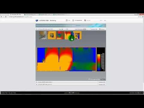 Autodesk Revit DA - Daylight simulation of Floor Plan Views (Illuminance/lux)
