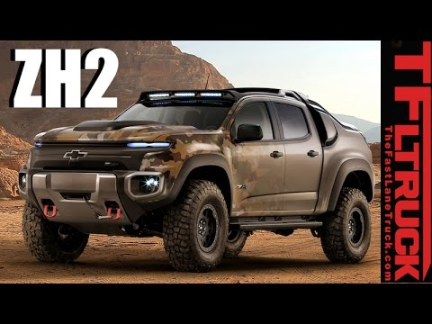 chevy colorado zh2 is this hybrid hydrogen powered 4x4 truck the humvee of the future youtube. Black Bedroom Furniture Sets. Home Design Ideas