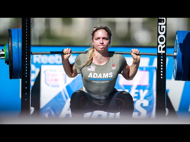 Event 3 - 2020 CrossFit Games