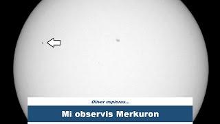 Pasado de Merkuro | Mercury transit | #Esperanto