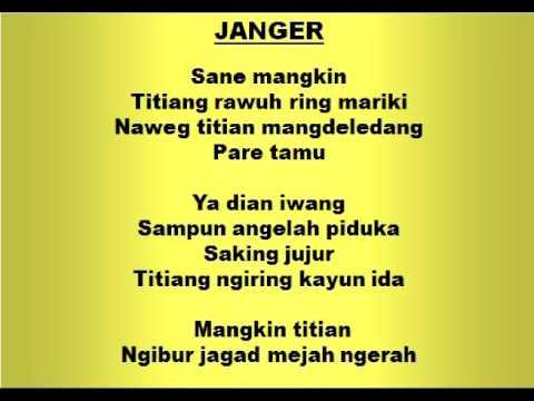 JANGER - Lagu dan Tari Nusantara - Lagu Anak - YouTube