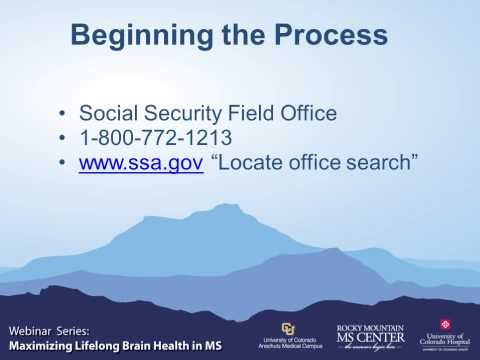 Webinar: Navigating The Social Security Disability System