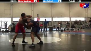 Steven Monteiro vs. Mike Rolland at 2013 Veterans Nationals - Greco