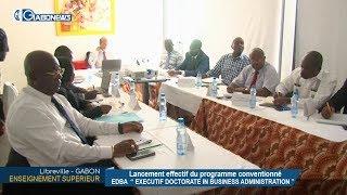 GABON / ENSEIGNEMENT SUPERIEUR : Lancement effectif du programme conventionné EDBA
