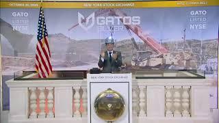 Gatos Silver, Inc. (NYSE: GATO) Virtually Rings The Closing Bell®
