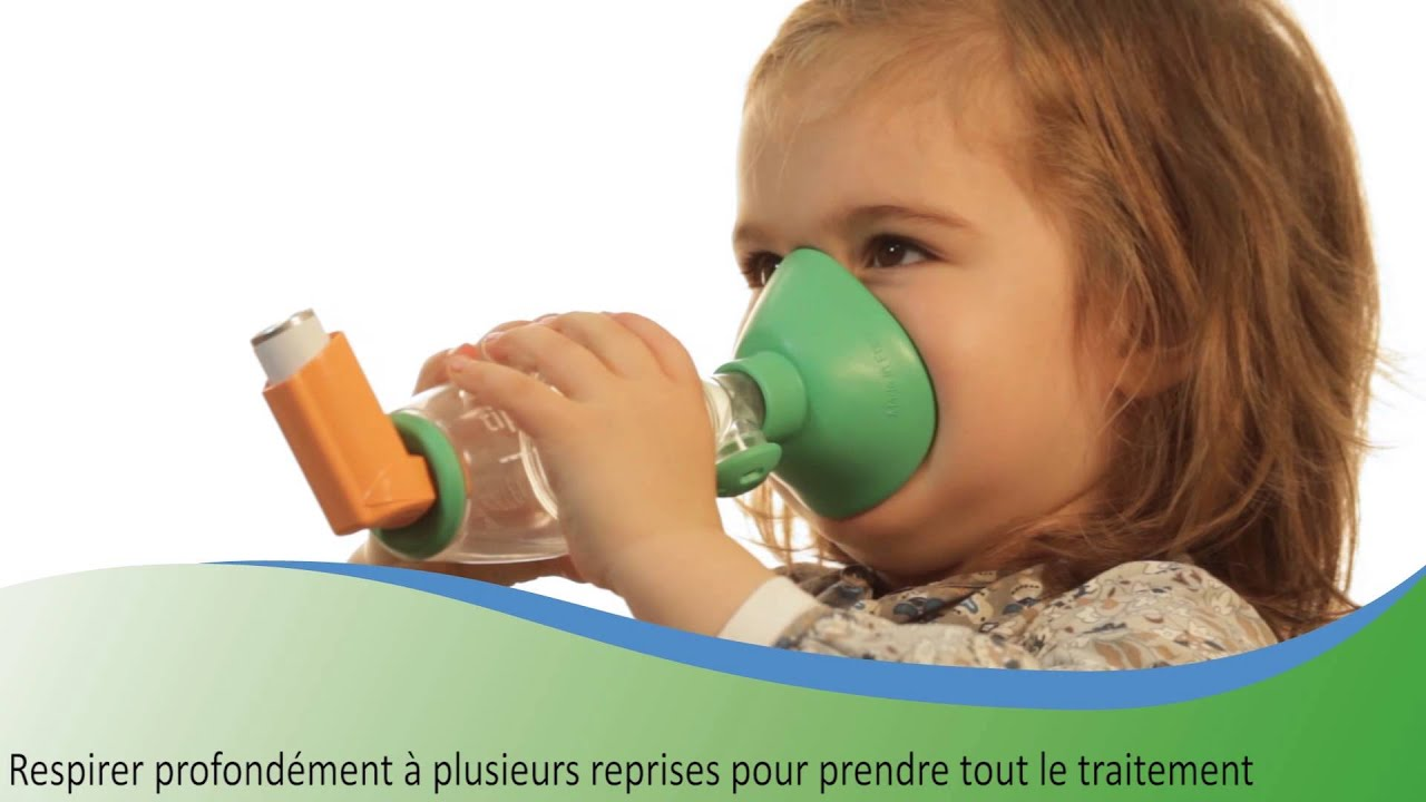 Comment Utiliser Une Chambre D Inhalation Tipshaler Avec Un Aerosol