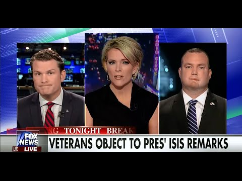 • Iraq War Veterans Furious With Obama's ISIS Excuses • Kelly File • 11/17/15 •