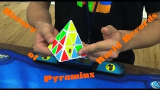history of pyraminx world records