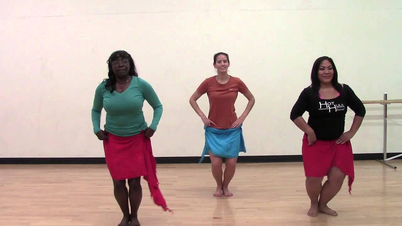 HOT HULA fitness Dance Workout - Week 6