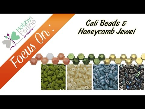 Cali Beads Honeycomb Jewel | FOCUS ON - HobbyPerline.com