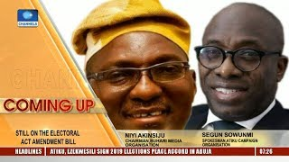 2019 Elections: APC, PDP Disagree On Reliability Of INEC To Conduct Credible Polls Pt.1