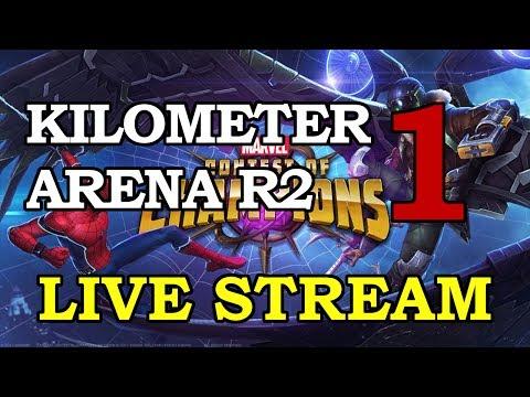 Kilometer Arena Round 2 - Part 1 | Marvel Contest of Champions Live Stream