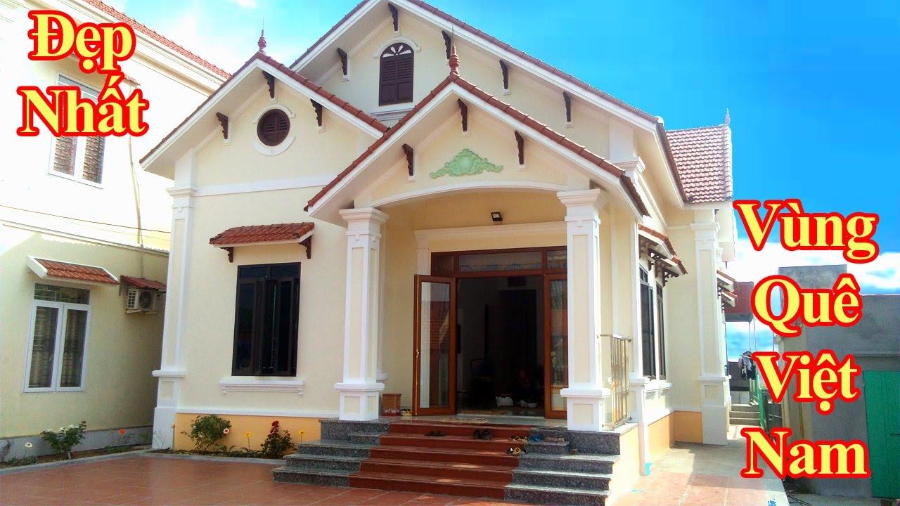 Đây Là Mẫu Nhà Cấp 4 -4 Phòng Ngủ Đẹp Nhất Vùng Quê Việt Nam