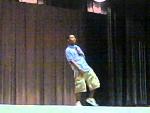 Petey Mac at Bishop State Community College