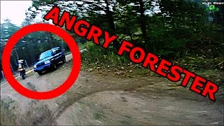 ANGRY FORESTER CHASE | ANGRY GUY | FAIL || ENDUROGERMANY