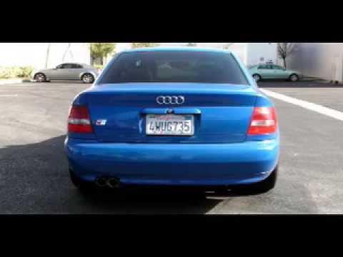 2000 2002 Audi S4 V6 Exhaust System Kit Cat Back 16585 Magnaflow