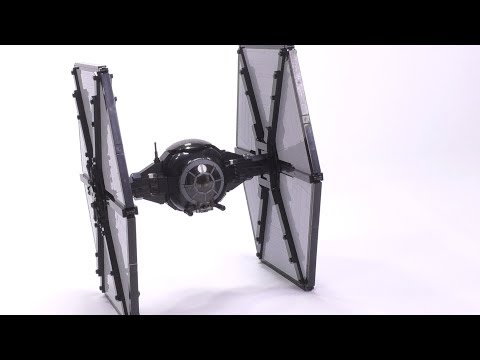 🔴 LEGO Brickvault First Order TIE Fighter(Designed by Jerac) Live Build!