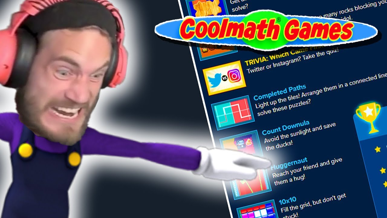 Playing Coolmath Games To Absorb 0 1 Of Pewdiepie S