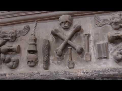 'Boys Day Out 8', Rare 1633 Mortuary Symbols St Columb's
