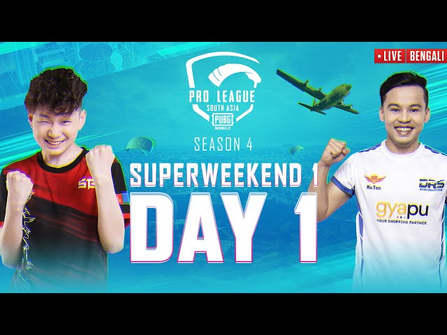 [BENGALI] 2021 PMPL South Asia Superweekend 1 Day 1   S4   DRS vs Zeus In the Battlegrounds