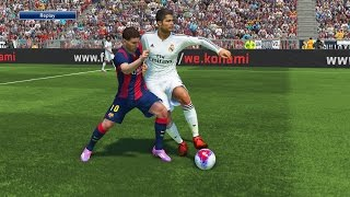 pes 2015 gameplay   el clasico real madrid fc barcelona   ps4 demo gameplay hd 1080p