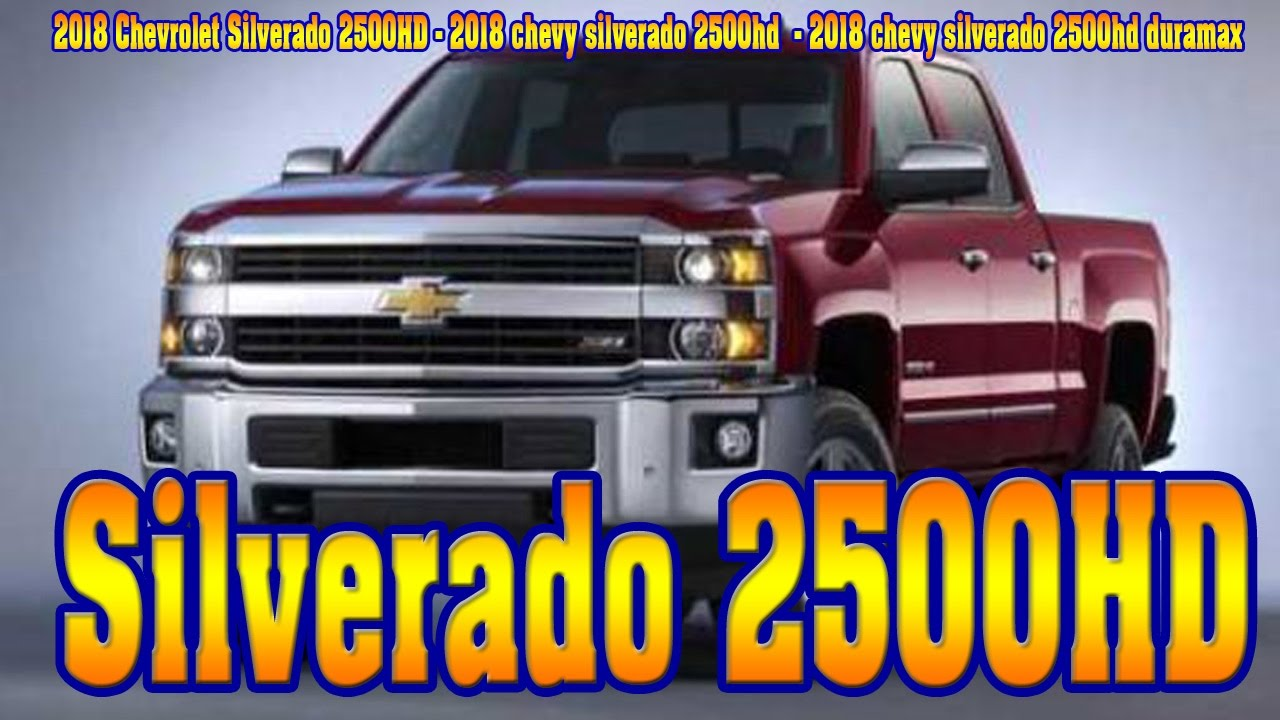 2018 chevrolet 2500hd high country. contemporary chevrolet 2018 chevrolet silverado 2500hd  chevy silverado 2500hd  duramax for chevrolet high country