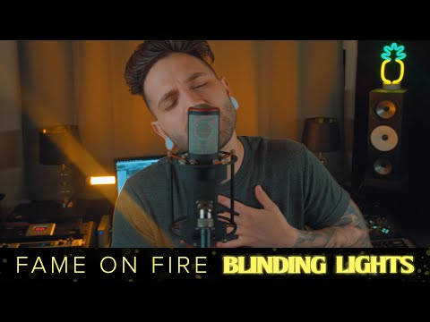 Fame On Fire - Blinding Lights (Official Music Video)