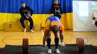 Москвичев Алексей становая тяга 370кг
