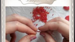 Бисероплетение - Французское плетение.