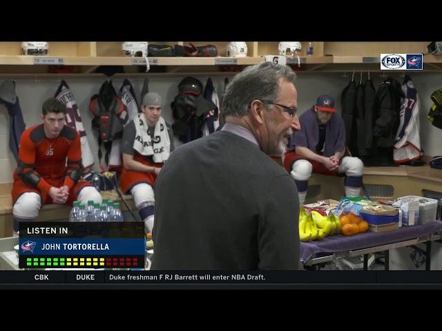 John Tortorella drops f-bombs in fiery locker room pep talk