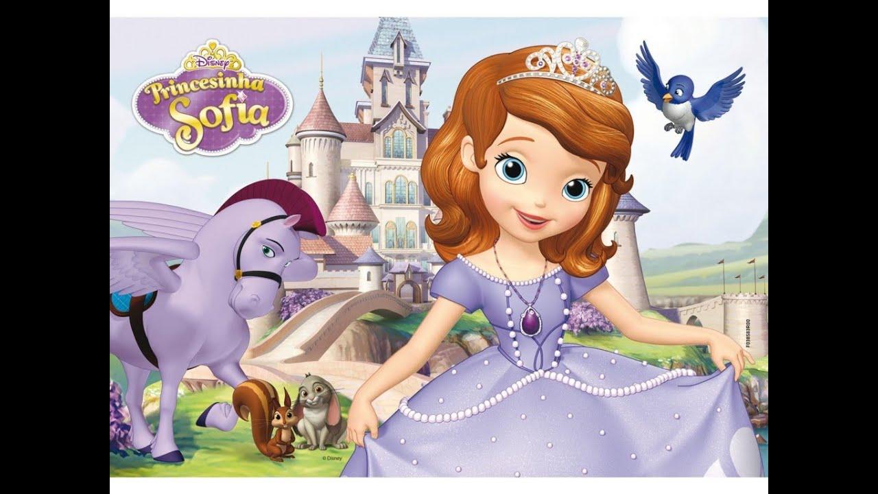 A Princesa Sofia Sofia The First Disney Desenho Completo Em