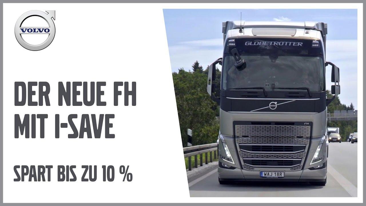 Volvo FH mit I-Save spart bis zu 10 Prozent