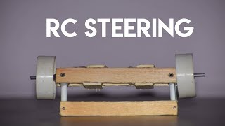 How to make car steering