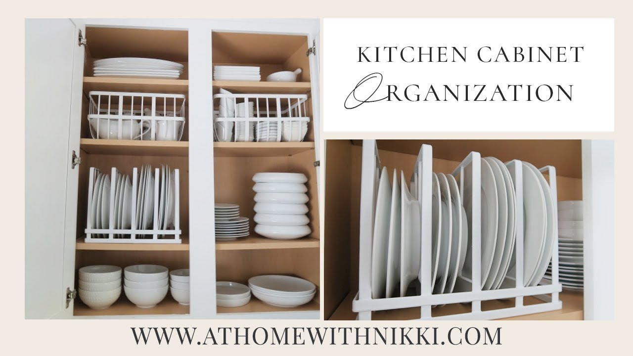 KITCHEN CABINET ORGANIZATION | Organize With Me