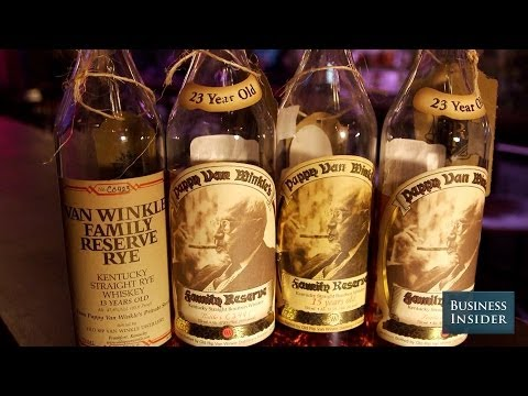 """Pappy Van Winkle Is The """"Unicorn That Everybody Wants To See"""" At A Whiskey Bar"""