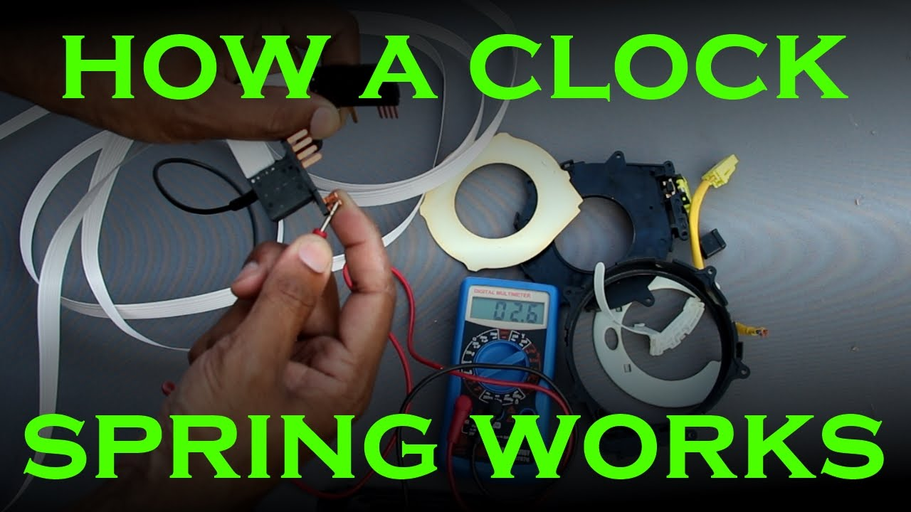 Clock Spring Replacement  Toyota  Lexus  YouTube
