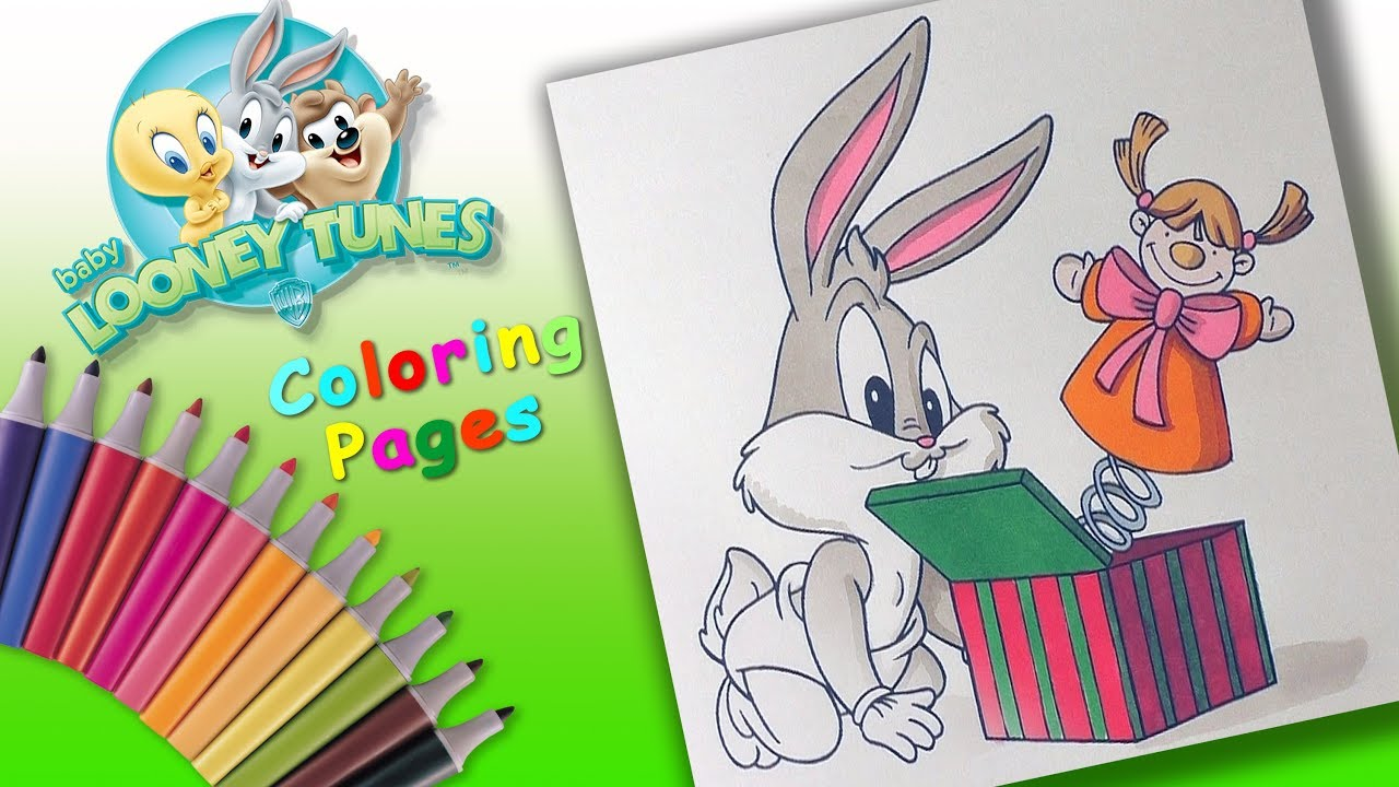 Baby Looney Tunes coloring picture | 720x1280