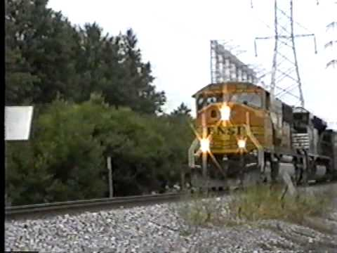 BNSF Coal Train on the NS Federal District (Alton Branch)