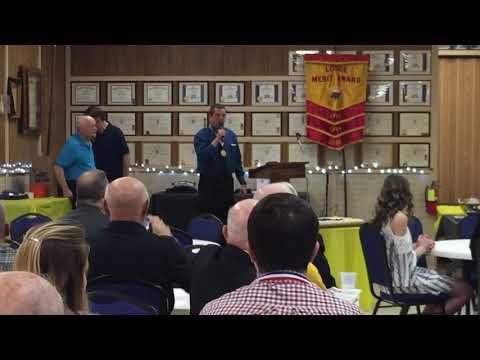 Kelley Reception at Keyser Moose Lodge