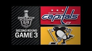 NHL 18 PS4. 2018 STANLEY CUP PLAYOFFS SECOND ROUND GAME 3: EAST CAPITALS VS PENGUINS. 05.01.2018 !