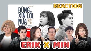 Schannel REACTION - 'ĐỪNG XIN LỖI NỮA' | Min x Erik | Nhạc phim Chi Pu là diễn viên chính thumbnail
