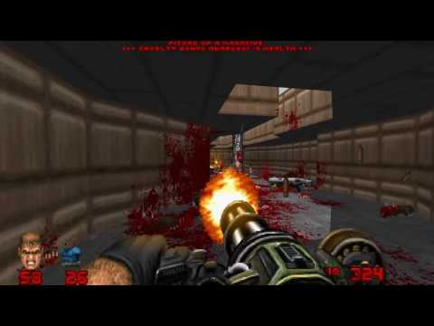 Doom 2016 weapons Addon for Brutal Doom - Test 1